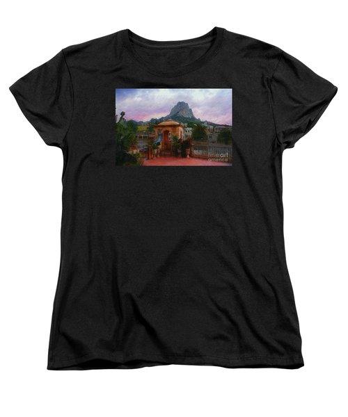 Happy Hour Women's T-Shirt (Standard Cut) by John Kolenberg