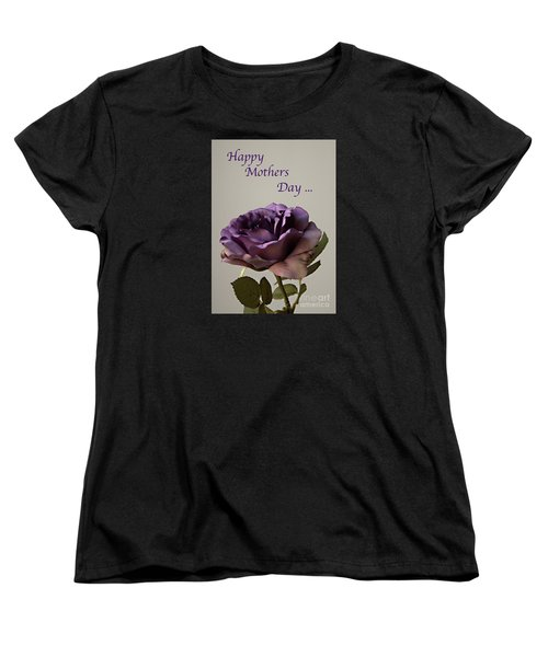 Happy Mothers Day No. 2 Women's T-Shirt (Standard Cut) by Sherry Hallemeier