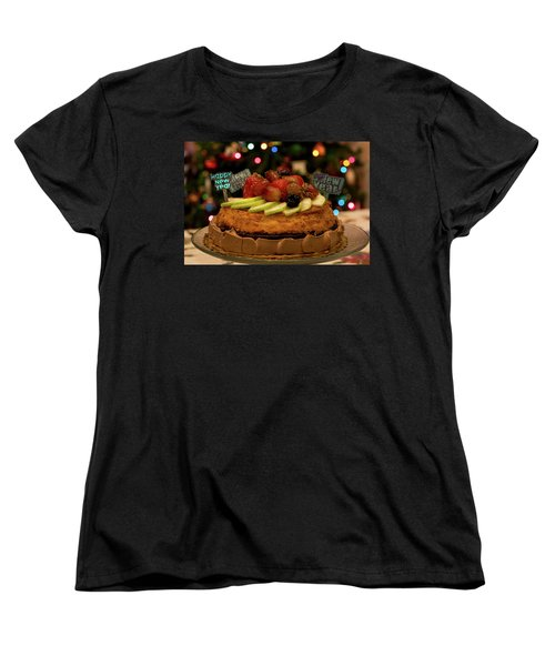 Happy New Year Women's T-Shirt (Standard Cut) by Ivete Basso Photography