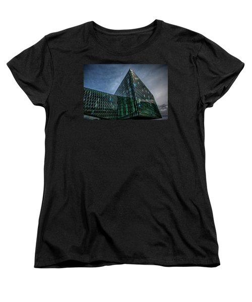 Harpa Women's T-Shirt (Standard Cut) by Wade Courtney