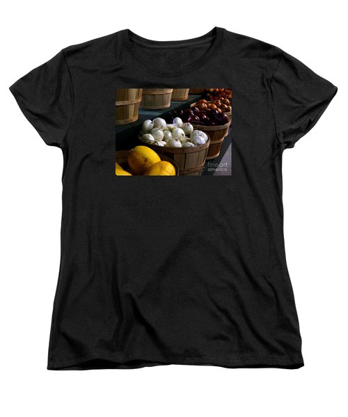 Women's T-Shirt (Standard Cut) featuring the photograph Harvest by Elfriede Fulda
