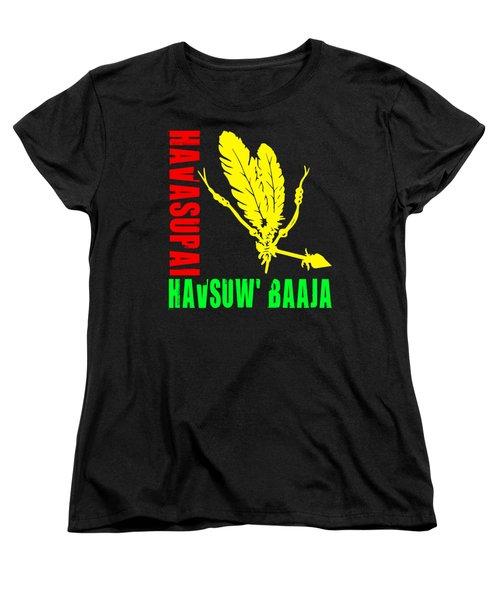 Havasupai Women's T-Shirt (Standard Cut) by Otis Porritt