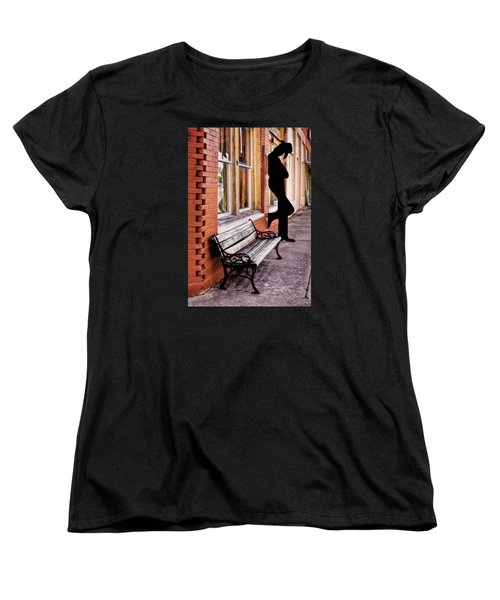 Have A Seat Women's T-Shirt (Standard Cut) by David and Carol Kelly