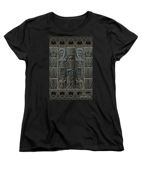 Heart Of Africa Women's T-Shirt (Standard Cut) by Lora Serra