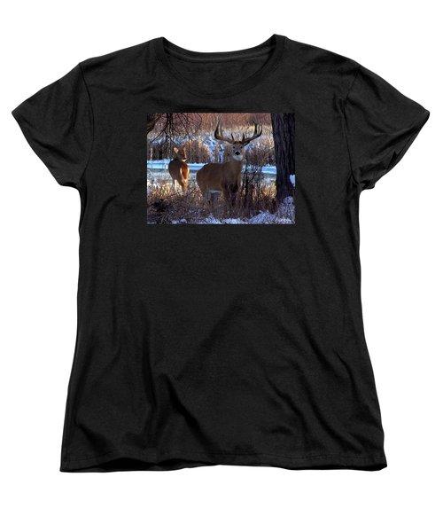 Heartbeat Of The Wild Women's T-Shirt (Standard Cut) by Bill Stephens