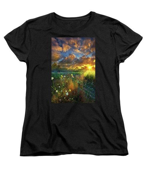 Heaven Knows Women's T-Shirt (Standard Cut) by Phil Koch