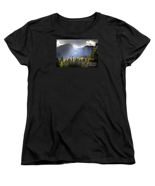 Women's T-Shirt (Standard Cut) featuring the photograph Heavenly Rockies  Rmnp by Nava Thompson