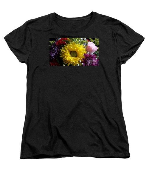 Hello Sunshine Women's T-Shirt (Standard Cut) by Becky Lupe
