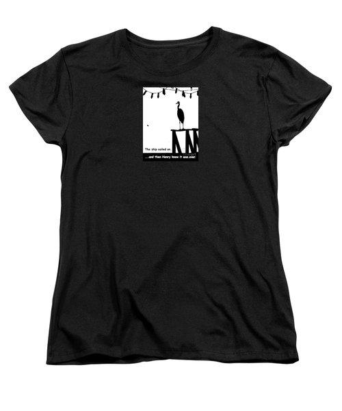 Women's T-Shirt (Standard Cut) featuring the photograph Henry Knew by Joe Jake Pratt