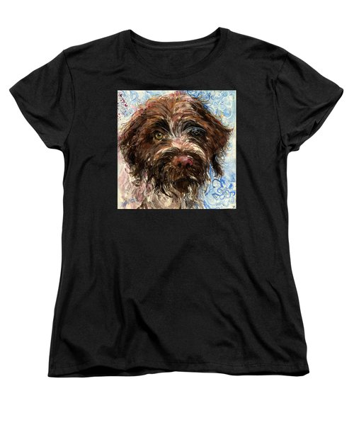 Women's T-Shirt (Standard Cut) featuring the painting Henry by Molly Poole