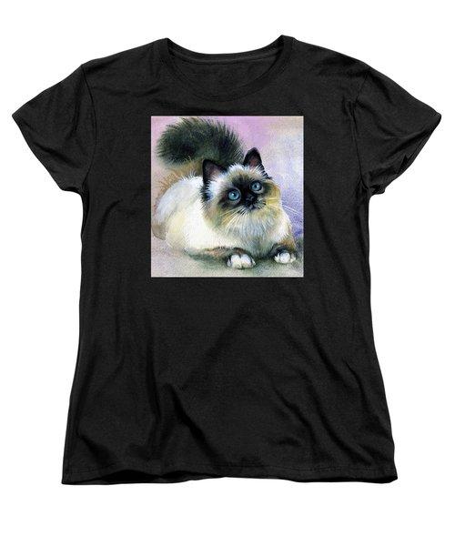 Here Kitty Women's T-Shirt (Standard Cut)