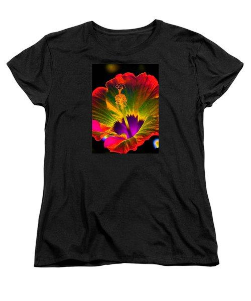Hibiscus 01 - Summer's End - Photopower 3189 Women's T-Shirt (Standard Cut)