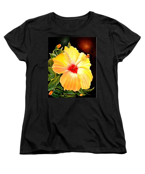 Hibiscus Glory Women's T-Shirt (Standard Cut)