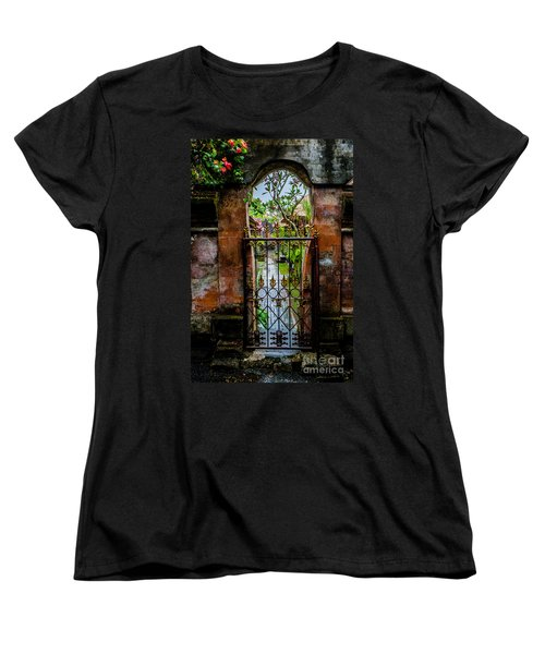 Bali Gate Women's T-Shirt (Standard Cut) by M G Whittingham