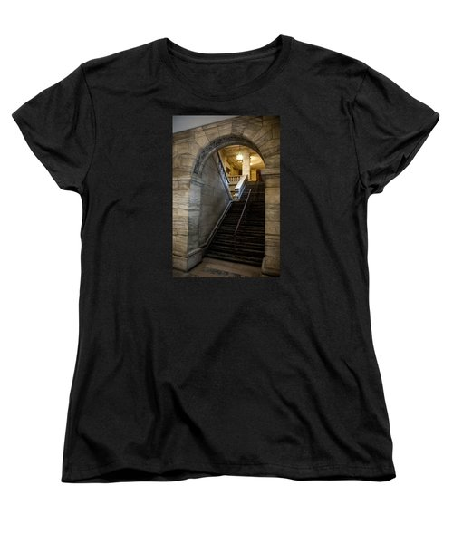 Higher Knowledge Women's T-Shirt (Standard Cut) by Allen Carroll
