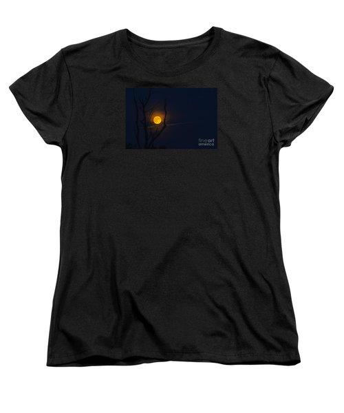 Highland Moon  Women's T-Shirt (Standard Cut) by Thomas R Fletcher