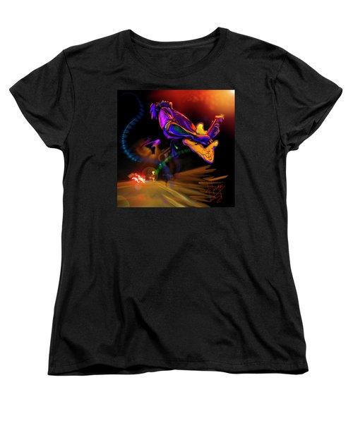 Highway Jam Women's T-Shirt (Standard Cut) by DC Langer