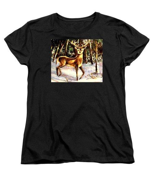 Hinds Feet Women's T-Shirt (Standard Cut) by Hazel Holland