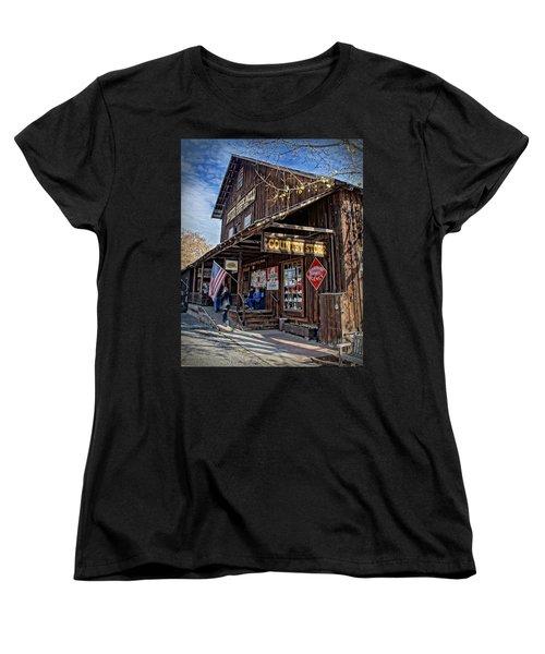 Historic Butte Creek Mill Women's T-Shirt (Standard Cut) by Mick Anderson