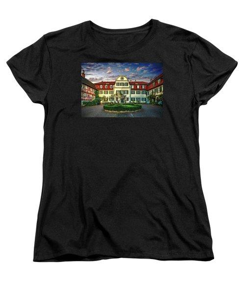 Historic Jestadt Castle Women's T-Shirt (Standard Cut) by Anthony Dezenzio
