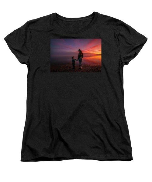 Hold My Hand Little Brother Women's T-Shirt (Standard Cut) by Ralph Vazquez