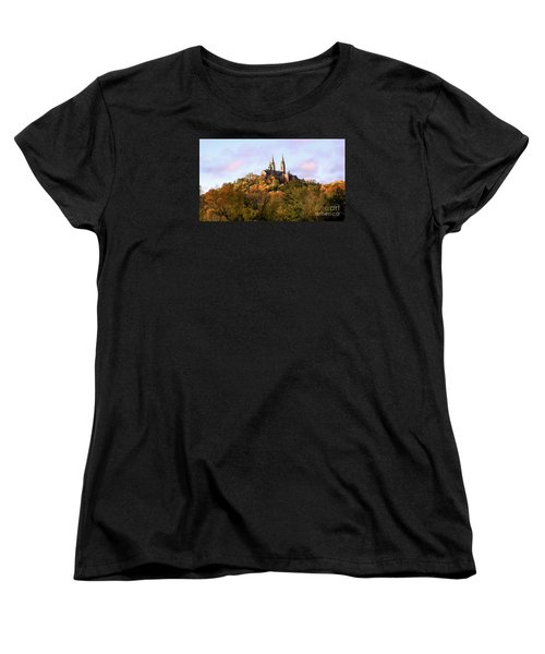 Holy Hill Basilica, National Shrine Of Mary Women's T-Shirt (Standard Cut) by Ricky L Jones