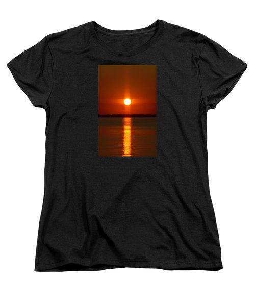 Holy Sunset - Portrait Women's T-Shirt (Standard Cut) by William Bartholomew