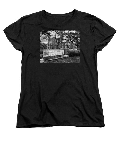 Women's T-Shirt (Standard Cut) featuring the photograph Home Of The Boilers by Coby Cooper