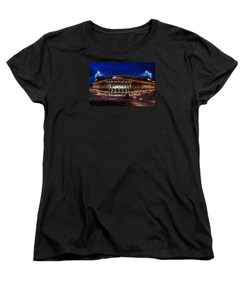 Women's T-Shirt (Standard Cut) featuring the photograph Home Of The Mets by James Kirkikis