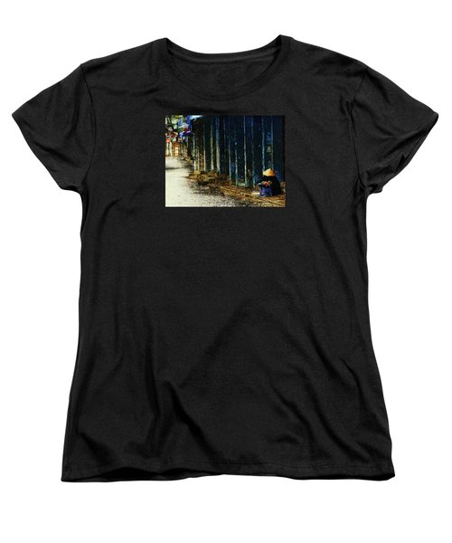 Homeless In Hanoi Women's T-Shirt (Standard Cut) by Cameron Wood