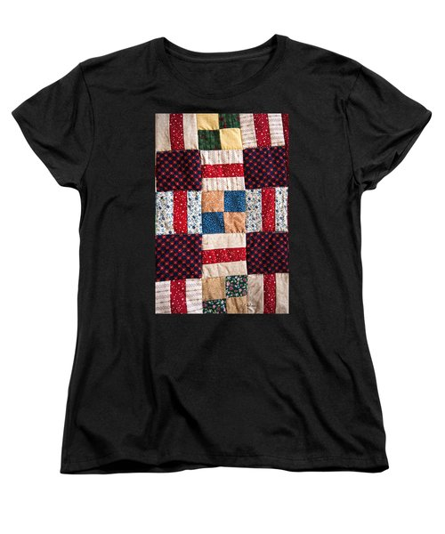 Homemade Quilt Women's T-Shirt (Standard Cut) by Christopher Holmes