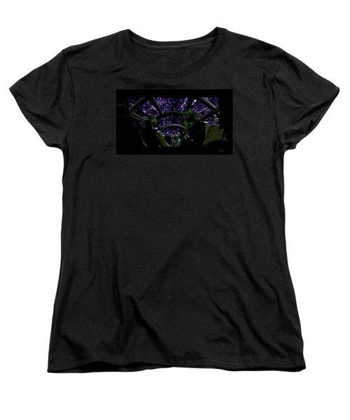 Hyper Space Women's T-Shirt (Standard Cut) by George Pedro