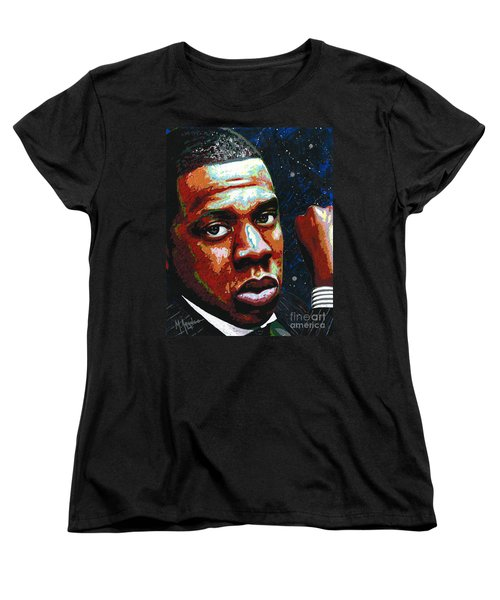 I Am Jay Z Women's T-Shirt (Standard Cut) by Maria Arango