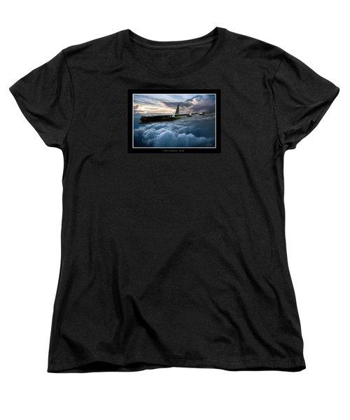I Am Legend B-52 V2 Women's T-Shirt (Standard Cut) by Peter Chilelli