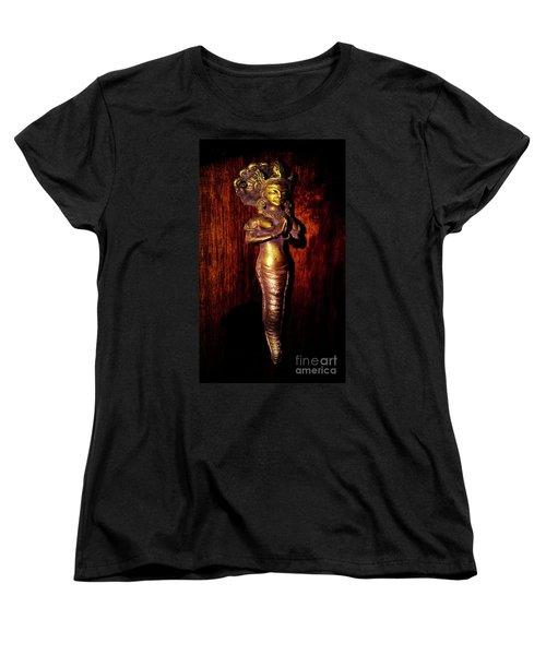 Women's T-Shirt (Standard Cut) featuring the photograph I Dream Of Genie by Al Bourassa