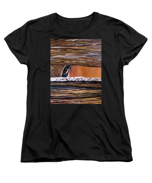 I See You Women's T-Shirt (Standard Cut) by Marilyn McNish