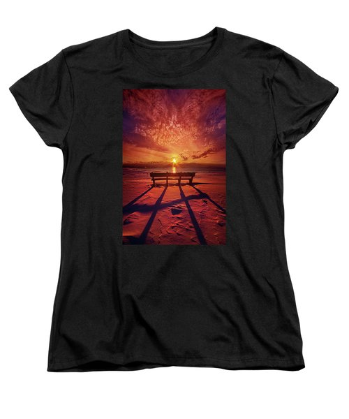 I Will Always Be With You Women's T-Shirt (Standard Cut) by Phil Koch