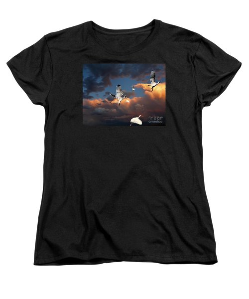 Ibis In Flight Women's T-Shirt (Standard Cut)