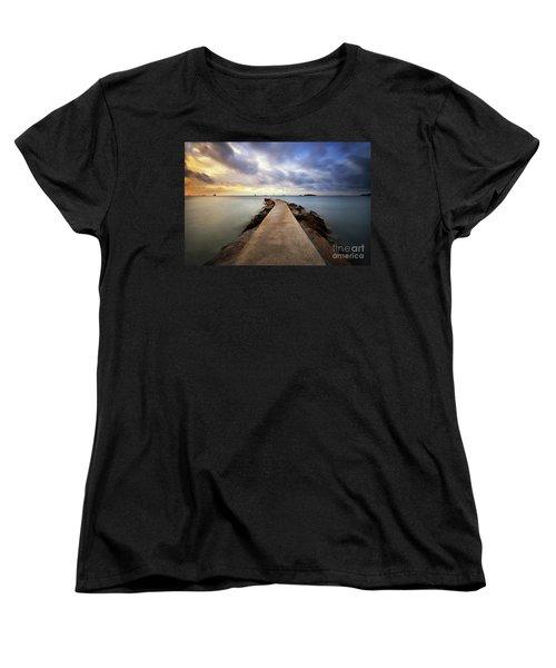 Ibiza Summer Mix 6.0 Women's T-Shirt (Standard Cut) by Yhun Suarez