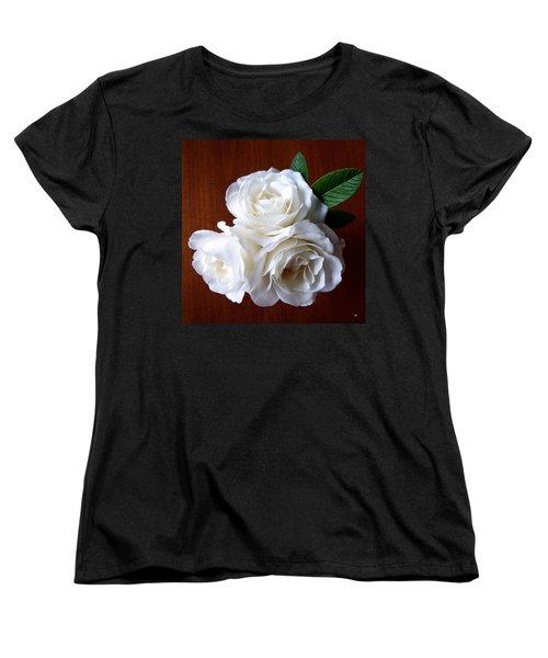 Iceberg Rose Trio Women's T-Shirt (Standard Cut)