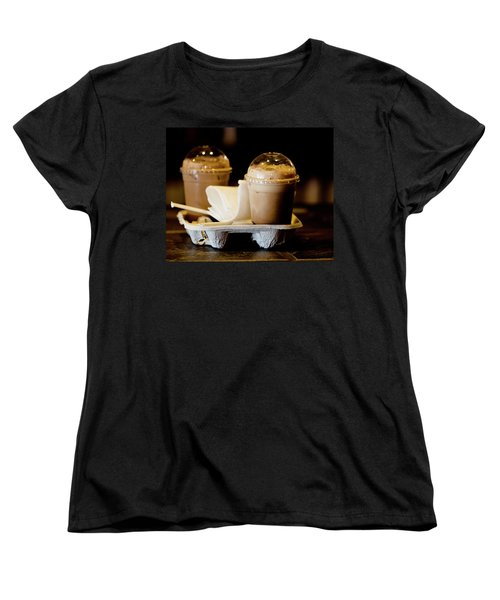 Iced Caramel Coffee Women's T-Shirt (Standard Cut)