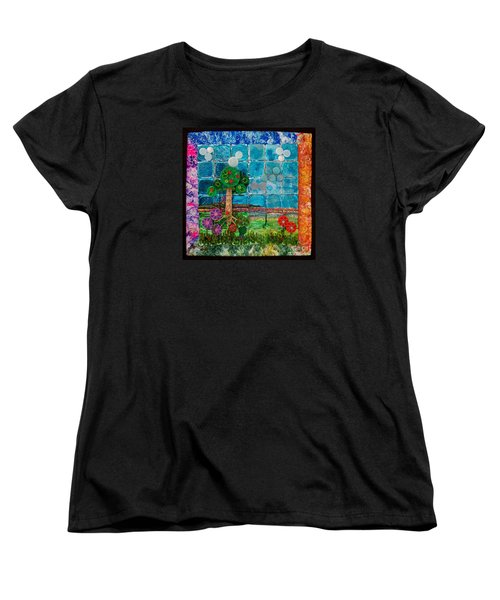 Idyllic Childhood Women's T-Shirt (Standard Cut) by Lori Kingston