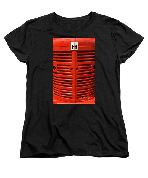 Women's T-Shirt (Standard Cut) featuring the photograph Ih Front by Meagan  Visser