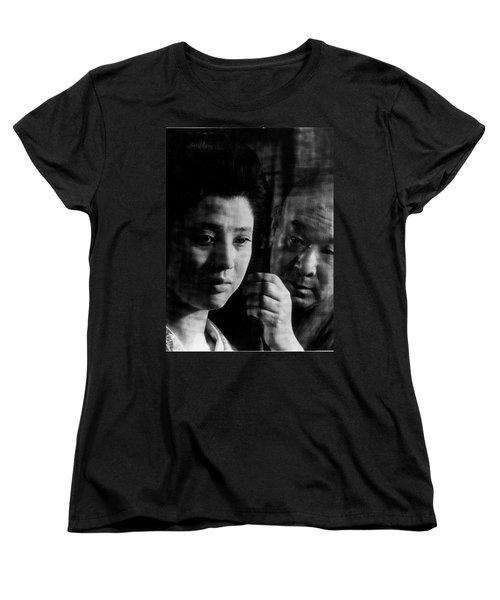 Illusion Of Blood Mariko Okada Women's T-Shirt (Standard Cut) by Dan Twyman