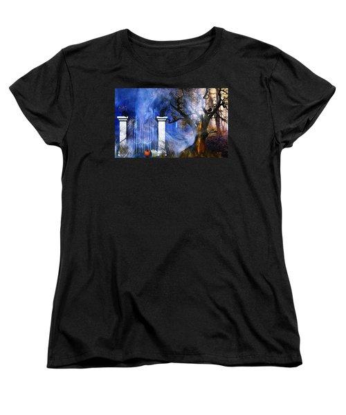 I'm Watching You Women's T-Shirt (Standard Cut) by Gabriella Weninger - David