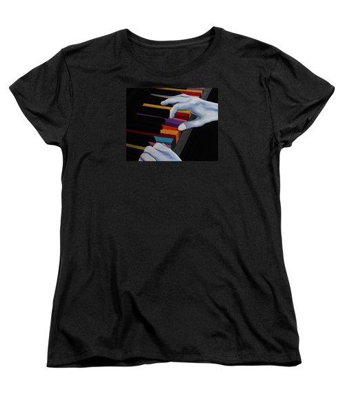 Imagine Women's T-Shirt (Standard Cut) by John Stuart Webbstock
