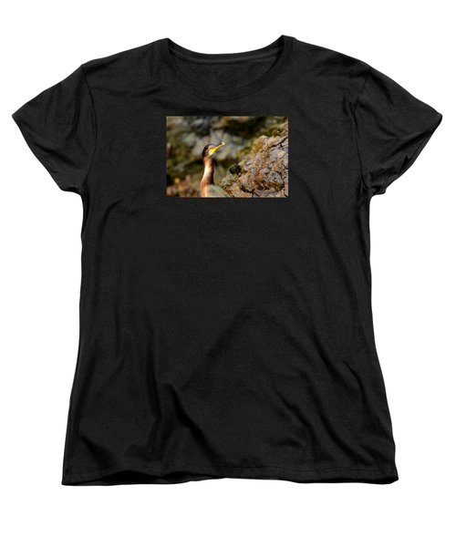 Women's T-Shirt (Standard Cut) featuring the photograph Immature Shag by Richard Patmore