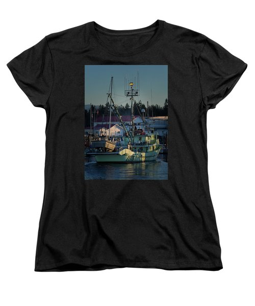 Women's T-Shirt (Standard Cut) featuring the photograph In For Ice by Randy Hall