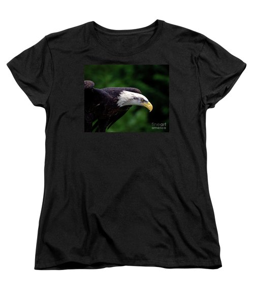 Women's T-Shirt (Standard Cut) featuring the photograph In For The Kill by Stephen Melia