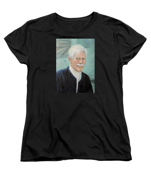 Women's T-Shirt (Standard Cut) featuring the painting In Memory Of Uncle Bud by Donna Tucker